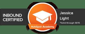 HubSpot Inbound Certified Badge