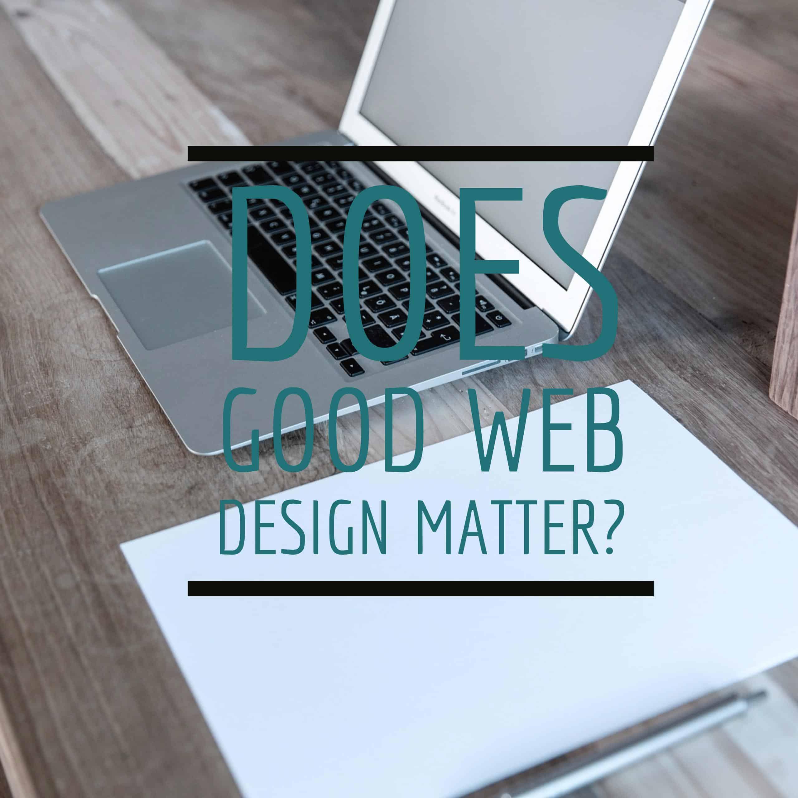 Does good web design matter? - JJ Social Light - Atlanta