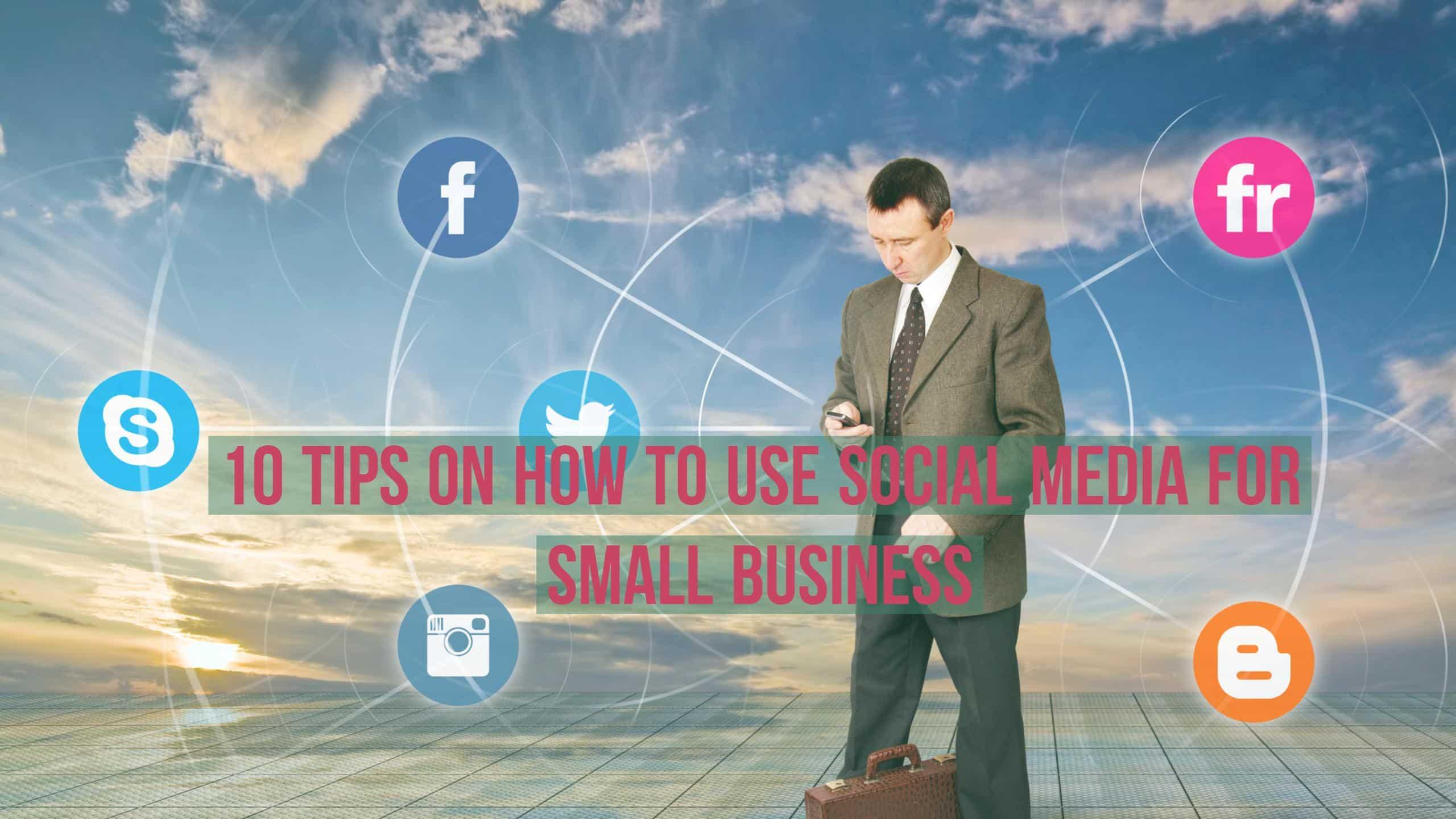 10 Tips on How to Use Social Media for Small Business - JJ Social Light - Atlanta