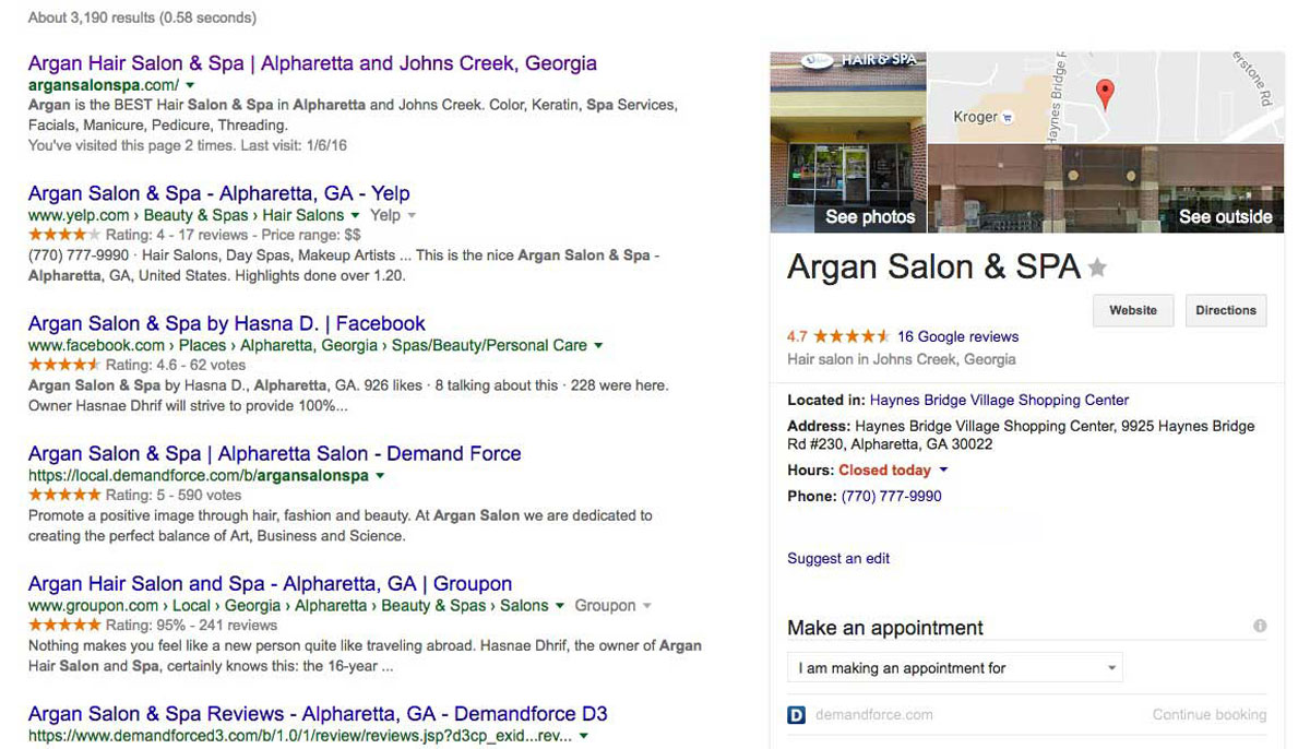 Argon Business Listings Image