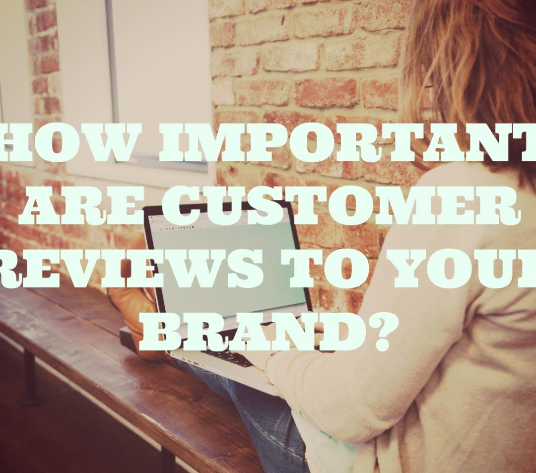 How Important are Customer Reviews to your Brand?