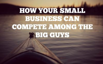 How Your Small Business Can Compete Among The Big Guys