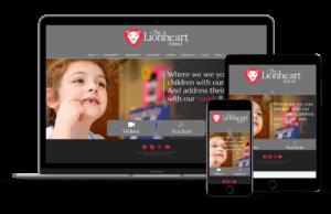 Lionheart-Private-School-Website-Design-Alpharetta