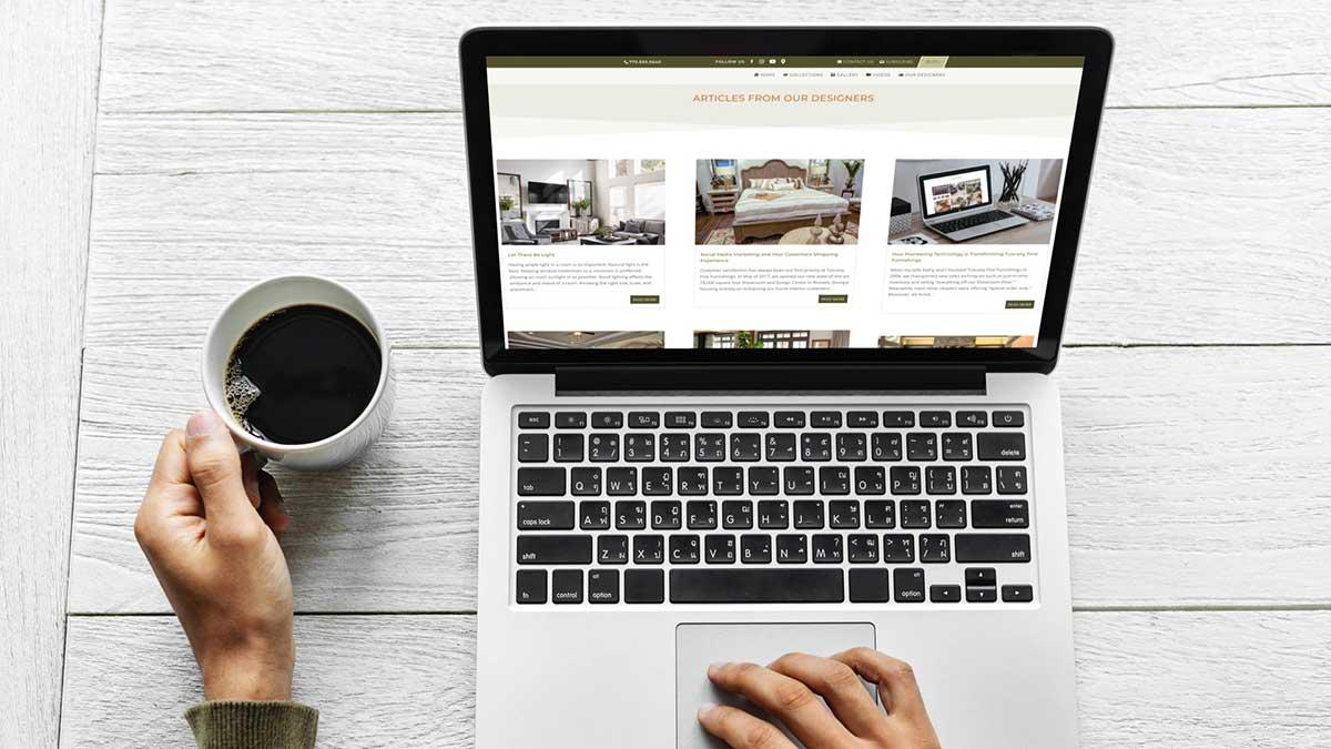 atlanta web design case study