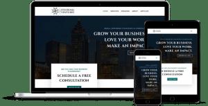 Steering Ventures - Business Coach Web Design in Norcross, GA