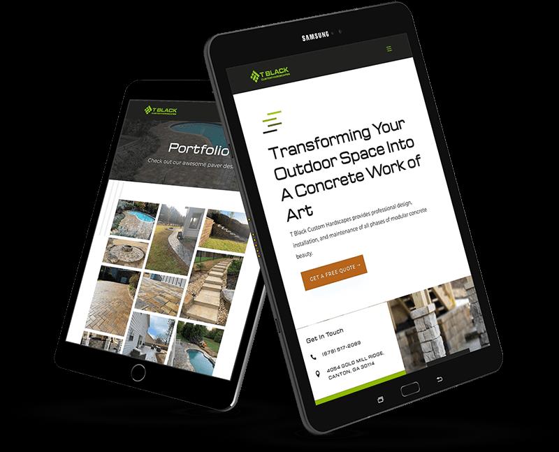 custom website design in georgia