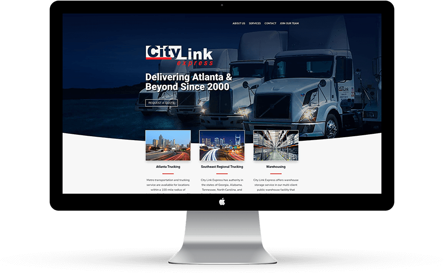 trucking company website