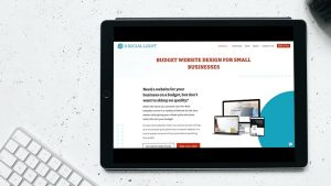 budget website design services